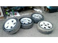 4x 15 inch alloys for quick sale