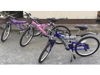 3 bicycles - good condition