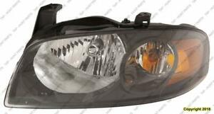 Head Light Driver Side Se-R High Quality Nissan SENTRA 2004-2006