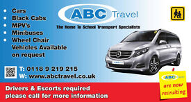 DRIVERS & PASSENGER ASSISTANTS REQUIRED FOR SCHOOL CONTRACTS IN WOKINGHAM & READING AREAS