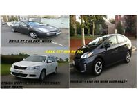 PCO CARS HIRE OR RENT FROM £95 PER WEEK