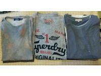 Mens bundle. Superdry Zara Topman M-XL tshirts vest & lsleeve