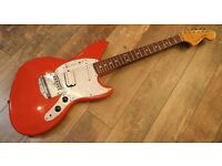 Fender Jagstang - Made in Japan 2003 - Fiesta Red - Rare - Can Deliver!