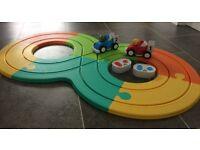 ELC Happyland Remote Control Racing Track Set