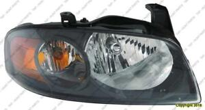 Head Light Passenger Side Se-R High Quality Nissan SENTRA 2004-2006