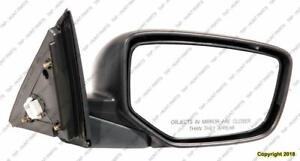 Door Mirror Power Passenger Side Heated Coupe With Folding Honda Accord 2008-2012