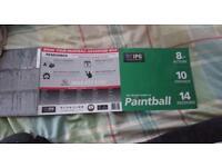 Paint balling tickets