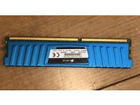 2GB (1x2GB) Corsair XMS3 CML4GX3M2A1600C9B 1600MHz DDR3 Desktop Memory