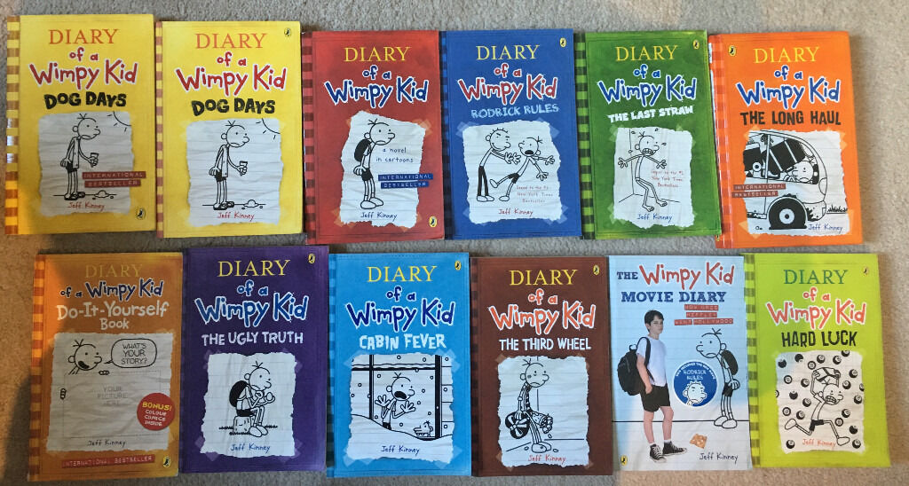 Diary of a wimpy kid books bundle in maida vale london gumtree diary of a wimpy kid books bundle solutioingenieria Image collections