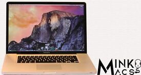 " 15"" Apple MacBook Pro Laptop 2.4Ghz i5 8gb 240GB SSD Logic Pro X Cubase Ableton Pro Tools Reason"