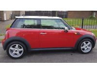 Loved and looked after Mini Cooper with chilli pack, chequered graphics and many extras. Bargain!