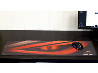 ASUS ROG Professional Gaming Extended Mouse Mat Red Strix