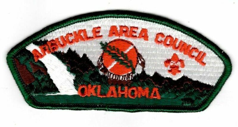 Arbuckle Area Council Oklahoma CSP DRK GRN Bdr. [71-6]