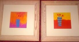 LOVELY SET OF 2 PICTURES - IN GREAT CONDITION