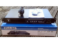 PULSE KARAOKE DVD PLAYER, BOXED & COMPLETE.