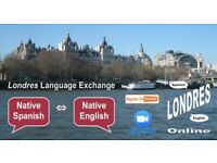 Native Spanish - Native English - ONLINE - Londres Language Exchange - Tuesday 29th September