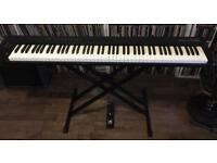 M-audio Pro Keys 88 SX - full size stage piano midi usb keyboard - boxed w stand and pedal