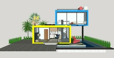 Desert Palms 33 Shipping Container Home Catalog L40
