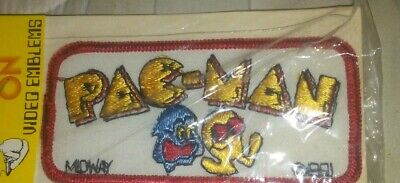 Vintage Pac-Man Video Game Patch 1981