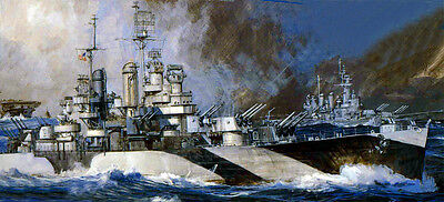 1/350 4242 - USS Miami  CL-89 - Cleveland class Light Cruiser  - Resin Model Kit