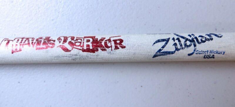 Travis Barker Unsigned Concert Used Drumstick Blink 182 Drummer