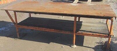 Steel Weld Work Bench Table 2603lr