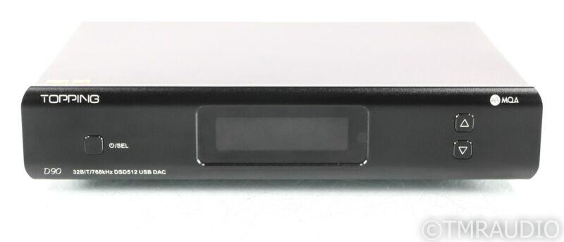 Topping D90 MQA DAC; D/A Converter; D-90; DSD; Remote