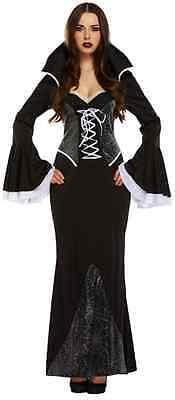 Damen Sexy Knöchellang Spinne Vampir Halloween Kostüm Kleid - Sexy Vampir Outfits