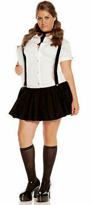 Elegant Moments 9685 Plus Size Business School Girl Costume Office Girl L ~ 1X2X ()