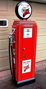 TEXACO FIRE CHIEF GUN LOCKER, STORAGE CABINET, VINTAGE GAS PUMP