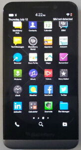 BlackBerry  Z30 unlocked works w Freedom