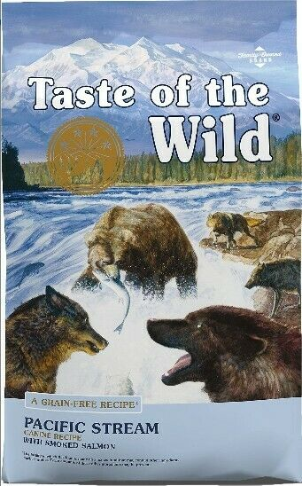 Taste of the Wild Pacific Stream Grain-Free Dry Dog Food 28lb