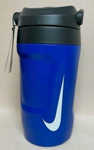 New Nike 64oz Hyperfuel Insulated Water Jug Bottle Thermos Sports Blue Fuel