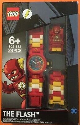 LEGO 8021582 The Flash Buildable Watch 6+ New & Boxed
