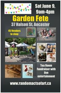 Garden Fete Craft Show, Entertainment and Tea Room