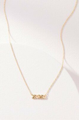 Stella & Dot XOXO Necklace Silver or Gold Brand New In Original Envelope