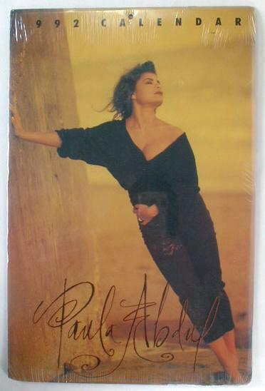 PAULA ABDUL 2020 Photo Calendar 1992 Calendar reusable in the year 2020 SEALED