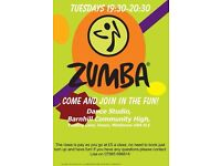 ZUMBA FITNESS FUN! IN YEADING, HAYS, TUESDAYS