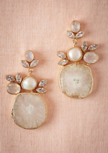Moonstone Earrings from Wedding website BHLDN