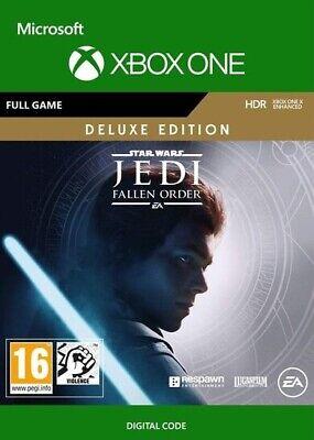Star Wars: Jedi Fallen Order -- Deluxe Edition (Microsoft Xbox One, 2019)