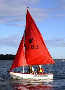 FOR SALE: MIRROR SAILING DINGHY Tin Can Bay Gympie Area Preview