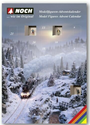 "Noch 45992 Tt Gauge "" Advent Calendar "" 2019 With 25 Figurines # New IN Boxed ##"