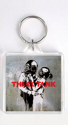 BLUR - THINK TANK LP COVER KEYRING LLAVERO - Lp Tank Cover
