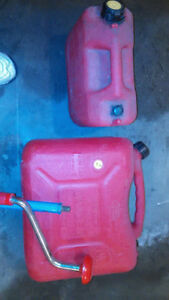 23 liter Fuel tank $12, .... 10 liter Fuel tank $6  If the ad is
