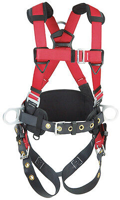 PROTECTA 1191208 FULL BODY HARNESS - Construction Style Harnesses (Small)