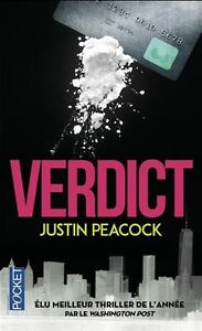 VERDICT JUSTIN PEACOCK JUSTIN PEACOCK COMME NEUF TAXES INCLUSES