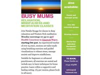 New relaxation, mindfulness & meditation classes starting in Llantwit Major 31st Oct