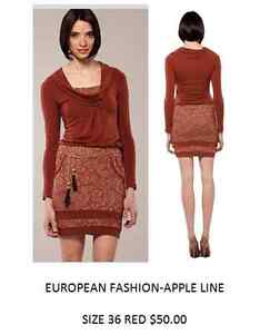 Made in Turkey Dress color Red