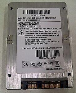 Patriot-2-5-128GB-SATA-II-Internal-SSD-for-Desktop-or-Laptop-7-day-auction-NR
