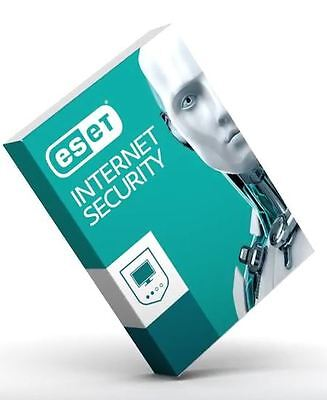 Eset Internet Security   Version 10 On 2017  1 Year For 2 Devices  On Windows
